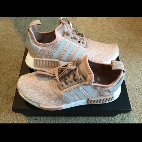 buy popular f00ea 5337a Adidas NMD R1 Ash Pearl Chalk Pink